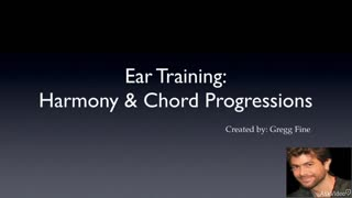 Harmony and Chord Progressions - Preview Video