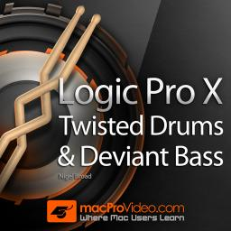 Twisted Drums and Deviant Bass
