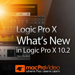 What's New in Logic Pro X 10.2